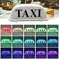 utv led spot light rond achat en gros de-Mode Taxi Taxi Top lumière Roof Sign 6 LED Economy Télécommande Top magnétique signe coloré