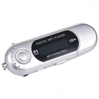 Wholesale mp3 player screen sd slot resale online - Mini Portable USB Flash MP3 Player LCD Screen Support Flash GB TF SD Card Slot Digital mp3 music player New