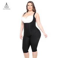 trajes de mujer al por mayor-Adelgaza la ropa interior de las mujeres Fajas Corsés adelgaza el vientre Entrenador de la cintura Tummy Shaper Butt Lifter Body Shaper Body