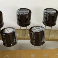 condensateurs électrolytiques nichicon achat en gros de-5pcs / 30pcs 1000uF 16V NICHICON PJ série 16x15mm 16V1000uF condensateur électrolytique en aluminium longue durée