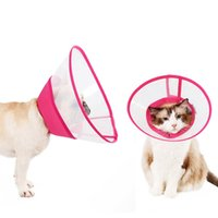 Wholesale dog e collars resale online - Pet Dog Cat Remedy Recovery Protective Collar Elizabethan Collar Wound Healing Care Protection Cone E Pet Product