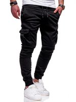 Wholesale gym clothing for men for sale - Group buy Men Pants New Fashion Men Jogger Pants Fitness Bodybuilding Gyms For Runners Clothing Autumn Sweatpants Size XL