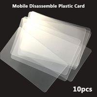 Wholesale mobile phone repair glue resale online - Repair Tool Handy Plastic Card Pry Opening Scraper for iPhone iPad Tablet for Samsung Mobile Phone Glued Screen Hand Tools