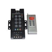 12v hf-schalter großhandel-RF 8-key RGB LED Fernbedienung RGB-Schalter DC12V-24V 30A Wireless Controller Fernbedienung Iron Shell