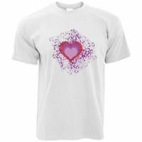 Wholesale art paintings couple resale online - Valentine s Day T Shirt I Love You Art Paint Splatter Couples Relationship