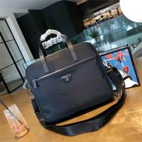 laptop mit hülse großhandel-Marke Designer Laptop Sleeve Aktentasche Handtasche für MacBook Air Pro Oberfläche iPad Dell HP Chromebook Tasche Notebook Tasche