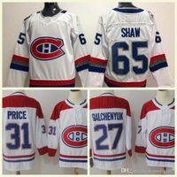 e31b9c3c8 Montreal Canadiens Hockey 4 Jean Beliveau 6 Shea Weber 31 Carey Price 92  Jonathan Drouin 13 Max Domi 27 Alex Galchenyuk Jerseys S-3XL
