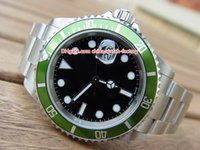 Wholesale vintage christmas tags resale online - Hot Selling Top Quality BPF Maker Vintage mm LN LV Anniversary Green Asia Movement Automatic Mens Watch Watches