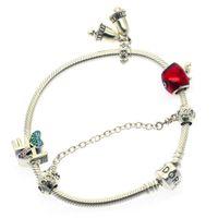 Wholesale wholesale slide bracelet accessories for sale - Fashion silver bracelet women s creative DIY silver snake bracelet Christmas accessories bracelet