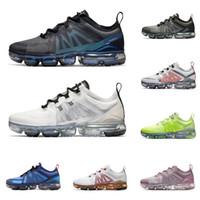 erkekler için yumuşak koşu ayakkabıları toptan satış-2019 nike air vapormax erkekler kadınlar için koşu ayakkabıları en kaliteli KESME GELECEK siyah Yumuşak Pembe CNY Crimson Altın erkek eğitmenler moda spor sneakers