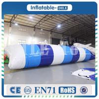 su çantası satışı toptan satış-En Iyi Kalite 10x3 m Şişme Su Blob Hava Su Mancınık Şişme Atlama Hava Yastığı Şişme Blob for sale