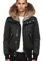 kodiak jacken unten großhandel-Kodiak EDWARD-F4 top copy men Winterjacke männer dünne Jacke Winter Beste Qualität Warm Plus Size Mann Daunenparka Arctic Coat