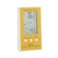 Wholesale thermostat digital thermometer for sale - Group buy Hygrometer Temperature Humidity Meter Electronic New LCD Digital Thermometer w Wired External Sensor Thermostat Tester