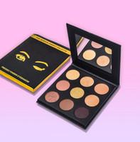 Wholesale free glitter kit for sale - Group buy Newest makeup The SORTIA SWEET Palette Pressed powder eyeshadow Kit palette Bronze Eyeshadow Colors Eye Shadow palette