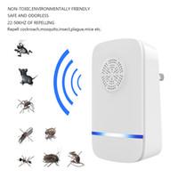ingrosso sensore del ricevitore del trasmettitore-Domotica Trappola elettrica Trappola ad ultrasuoni Repellente per zanzare Trappola repellente per insetti Domotica per insetti