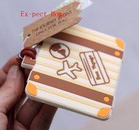 o chá de panela favorece etiquetas da bagagem venda por atacado-600 pcs Etiqueta de Bagagem