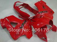 Wholesale 1998 vfr resale online - New ABS mold Fairing Fit For Honda VFR800 VFR Blackbird Motorcycle Fairings set custom red cool