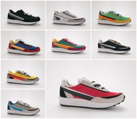 Wholesale men s fashion low shoes for sale - Group buy New Sacai LDV Waffle Daybreak Trainers Mens Sneakers For Women fashion designer Breathe Tripe S Sports Running Shoes Size With Box