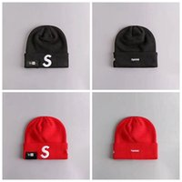 büyük devirler toptan satış-Sup Spor yün Kapaklar Streetwear Hypebeast şapka headwears kırmızı spor S için kırmızı S kap kap bisiklet kap