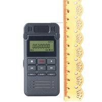 grabadoras telefónicas al por mayor-Grabadora de voz digital de 8GB Dictáfono Reproductor de MP3, soporte Grabación LIN-IN y grabación telefónica Grabación activada por voz digital