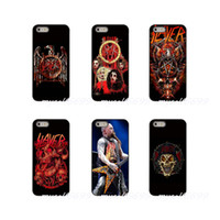 ingrosso cassa di telefono s3 metallo-American Kerry King Guitar Slayer Custodia in metallo per cellulare Custodia rigida per Samsung Galaxy Note 3 4 5 8 S2 S3 S4 S5 MINI S6 S7 edge S8 S9 Plus