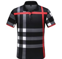 Wholesale skating clothes brands resale online - Summer brand T Shirts Mens Tops D burberry Letter Summer Skateboard Skate T Shirt Men Active Fitness Skate Tshirt Mens Clothing
