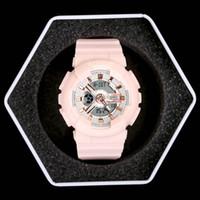 marcas de relojes deportivos al por mayor-Nuevo reloj digital LED deportivo de alta calidad para mujer, marca G, con Autolight, amortiguador e impermeable. Todos los punteros funcionan con caja
