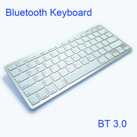 Wholesale hot tablets for sale - Group buy Hot selling wireless Keyboard K801D Bluetooth3 keyboards for android tv box smart phone tablet PC VS K09