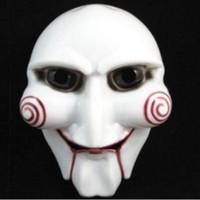 marionete de terror venda por atacado-Máscara Do Partido do dia das bruxas Assustador Rosto Cheio Masquerade Saw Puppet Halloween Traje Presente Fancy Ball Masks para o Dia Dos Namorados Adultos homens