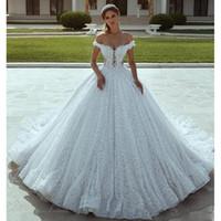 Vestido De Novia De Encaje Corte Princesa Online Vestido