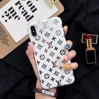 ingrosso caso superiore di iphone di modo-Custodia morbida in silicone per designer di lusso di lusso per Iphone 11 Pro Max X XS XR 8 8plus 7 7plus 6s 6 plus Cover in TPU di moda