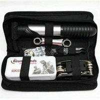 Wholesale combining tools for sale - Group buy Outdoor Bicycle Maintenance Kit Tyre Pump Repair Kits Mountain Bike Wrench Multi Combined Tools Survival Kit dt O1