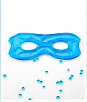 migränekissen großhandel-Augenschlafmaske mit Hohlgel-Heiß- / Kaltschmerzmaske Augenkissen, Kältetherapie bei Kopfschmerzen, Migräne und Nebenhöhlenschmerzen