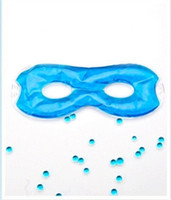 almohada migraña al por mayor-Máscara de sueño con gel hueco Mascarilla de alivio del dolor frío / caliente Almohada ocular, terapia de frío para el dolor de cabeza, migraña y dolor de sinusitis