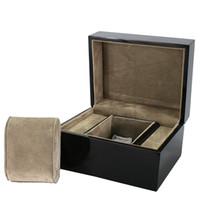 wrist watch gift box оптовых-Single Watch Box Watch Winder Wooden Wrist Watch/Bangle Pillow Box Gift