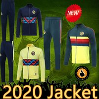 Wholesale mexico training suit for sale - Group buy Top quality Mexico LIGA MX Club America jacket pants soccer tracksuit home away Club America soccer training suit jackets