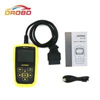 escáner obd2 eobd al por mayor-AUTOOL OL129 OBD2 / EOBD CAN Lector de código universal Escáner Herramienta de diagnóstico de error del motor con energía de la batería mejor que AUTEL 519