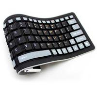 ingrosso silicone tastiera a colori-Top Vendita Tastiera impermeabile in silicone Wireless Bluetooth Soft Fashion Mix Colore Tastiere portatili flessibili per laptop 0.4kg