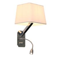 гибкий настенный светильник оптовых-Крытый гибкий механический кронштейн настенный светильник прикроватная лампа для чтения промышленных бра бра беспроводные настенные светильники светодиодные лампы для чтения