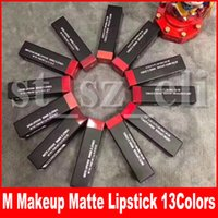 Wholesale m lipstick for sale - Group buy M Makeup Matte Lipstick Luster Retro Lipsticks Frost Sexy Matte Lipsticks colors lipsticks with English Name