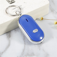 Wholesale whistling keychain finder for sale - Group buy Dropship Universal LED Anti Lost Key Finder Find Locator Keychain Key Chain Whistle Beep Sound Control Super Durable cover