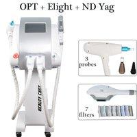 ingrosso rimozione del tatuaggio vendere-ipl opt shr shr OPT ipl shr laser ND Yag laser tattoo rimozione macchina multifunzione vendita calda