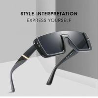 Wholesale personalized sunglasses resale online - 8 Colors Personalized Half Frame Sunglasses Trendy Unisex Sunglasses Fashion Square Sunglasses Outdoor Eyewear Kids Sunblock CCA11719