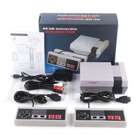 Wholesale video games controllers for sale - Group buy Christmas Gift Mini TV Video Entertainment System Game Console For NES Games Wth Controllers Retail Box Packaging