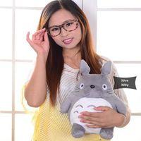 ingrosso vicino totoro-20cm My Neighbor Totoro Peluche Animali imbalsamati I migliori regali Giocattoli per bambini Peluche per i bambini Giocattoli Regalo Animazione Doll