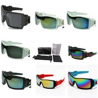 beste sonnenbrille für männer großhandel-Rechteck Sonnenbrille Colorfull Objektiv Sonnenbrille Beste Brille Für Bike Riding Branded Shades Für Männer Hohe Version Rennrad Spiegel