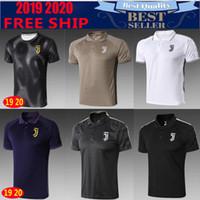 e5c649368 18 19 NEW top quality Ronaldo soccer jersey KHEDIRA DYBALA MARCHISIO  CHIELLINI Juventus 2018 2019 season free shipping football polo shirts