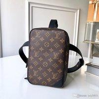 homens moda saco venda por atacado-Bolsa de um ombro dos homens bolsa, produção de couro, grande capacidade, saco de design, elegante e generoso 4
