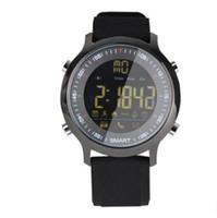 medidor de pasos al por mayor-EX18 reloj inteligente de profundidad resistente al agua carga extra larga espera bluetooth motion meter paso mensaje recordatorio A417