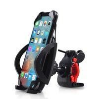 universal-silikon-gps-halter großhandel-Universal Anti Rutsch Fahrrad Motorrad Halter Handyhalterung Mit Silikonband für iPhone XS Max XR Samsung GPS